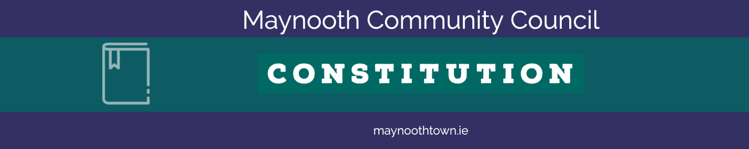 Maynooth Community Council - Constitution